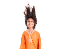 Young Girl Having Hair Fun I Royalty Free Stock Photography