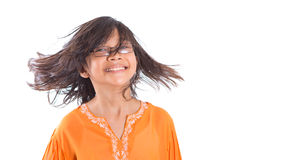 Young Girl Having Hair Fun II Royalty Free Stock Image