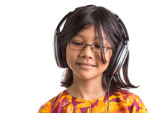 Young Girl With Headphone XII Royalty Free Stock Photography