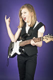 Rock chick Royalty Free Stock Photos