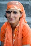 Young girl of Himachal in India Royalty Free Stock Photo