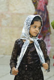 Young girl in Jerusalem Royalty Free Stock Image