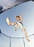 Young Girl Jump Stock Photography