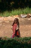 A young girl, Karamoja, Uganda stock photo