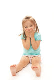 Young Girl Laughing Stock Photo