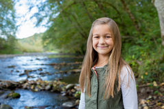 Young Girl Lifestyle Portrait in Oregon Royalty Free Stock Photo