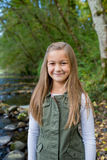 Young Girl Lifestyle Portrait in Oregon Royalty Free Stock Photography