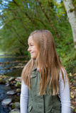 Young Girl Lifestyle Portrait in Oregon Royalty Free Stock Image