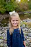 Young Girl Lifestyle Portrait in Oregon Stock Photography