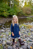 Young Girl Lifestyle Portrait in Oregon Royalty Free Stock Photos