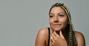Young girl in love Royalty Free Stock Photos