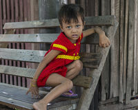 Young girl from mandalay Royalty Free Stock Photos