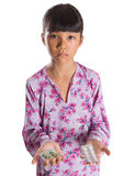 Young Girl And Medicine Pills IV Royalty Free Stock Photos