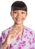 Young Girl And Medicine Pills IX Royalty Free Stock Images