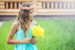 Young girl in nature Royalty Free Stock Photos