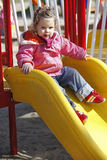 Young Girl On Playground Stock Photography