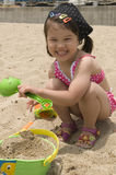 Young girl outdoor Stock Photo