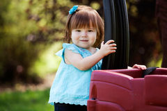 Young Girl Outdoor Portrait Royalty Free Stock Images
