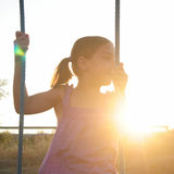 Young Girl Outside Royalty Free Stock Images