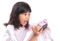Young Girl Overslept III Stock Photography
