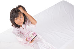 Young Girl Overslept VI Stock Image