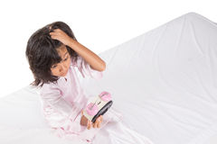 Young Girl Overslept VIII Stock Photos