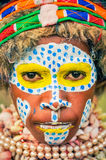 Young girl in Papua New Guinea Royalty Free Stock Image