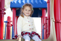 Young girl in the park Royalty Free Stock Photos