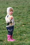 Young Girl in the Park Stock Image