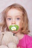 Young girl playing Stock Image