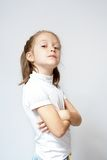 Young girl portrait Royalty Free Stock Images