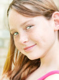 Young girl in portrait Royalty Free Stock Photo