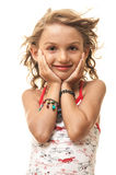 Young girl portrait Royalty Free Stock Photography