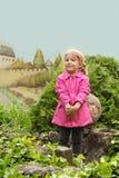 Young girl posing Stock Image