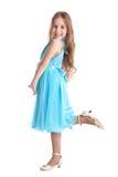 Young girl posing as a model Stock Photo