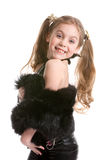 Young girl posing as a model Royalty Free Stock Photo