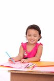 Young girl practicing Royalty Free Stock Images