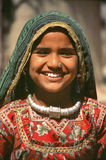 Young girl in Rajasthan Stock Photo