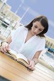 Young girl reading Royalty Free Stock Photos