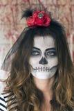 Young girl ready to celebrate Halloween Stock Photos