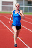 Young Girl Running Royalty Free Stock Images