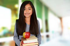 Young Girl At School Royalty Free Stock Photo