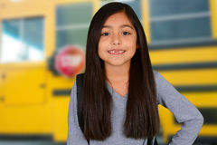 Young Girl At School Stock Photos