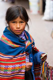 Young Girl Selling Crafts Royalty Free Stock Photo