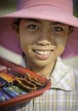 Street seller in vietnam