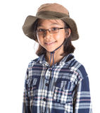 Young Girl With Shirt And Hat IV Stock Photos