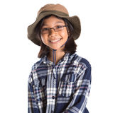 Young Girl With Shirt And Hat VIII Stock Photos