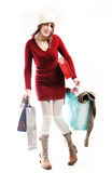 Young Girl Shopping Royalty Free Stock Photography