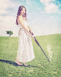 Young girl  shot Royalty Free Stock Images