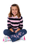 Young Girl Sitting Royalty Free Stock Photos